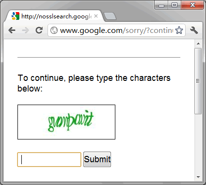 Google Proxy is banned