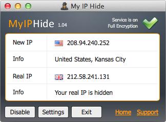 My IP Hide Mac